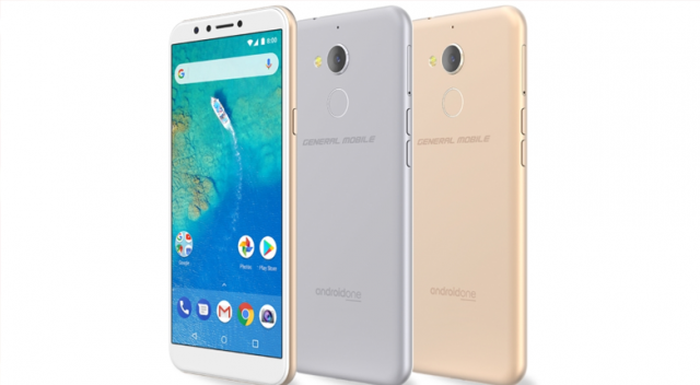 General Mobile'den uygun fiyatlı  'GM 8  Android One'