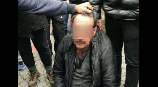 İstanbul Fatih'te öğretmene taciz dayağı