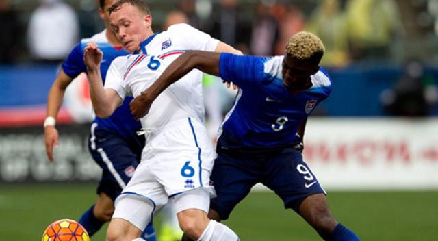İzlandalı futbolcu Thórarinsson, Eurovision elemelerine katıldı