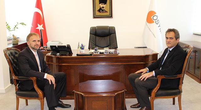 ÖSYM Başkanı Özer'e Boşnakça sınavı için teşekkür ziyareti