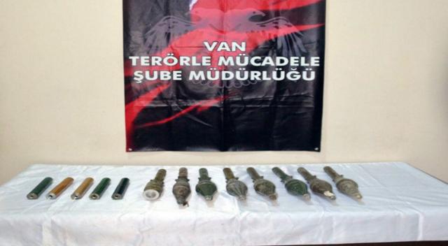 Polis ihbar üzerine harekete geçti: 7 roket bulundu