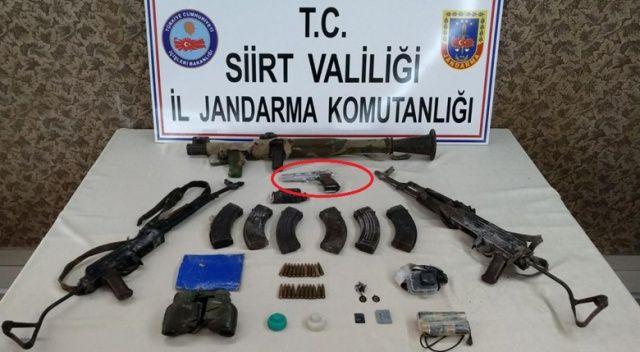 Şehit edilen uzman çavuşun tabancası öldürülen teröristten çıktı
