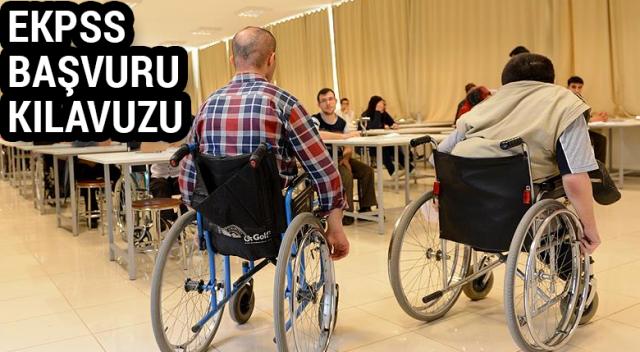 2018 EKPSS Engelli Tercih Kılavuzu ve Kura Başvuru Kılavuzu | ÖSYM EKPSS Başvuru Sorgulama AİS