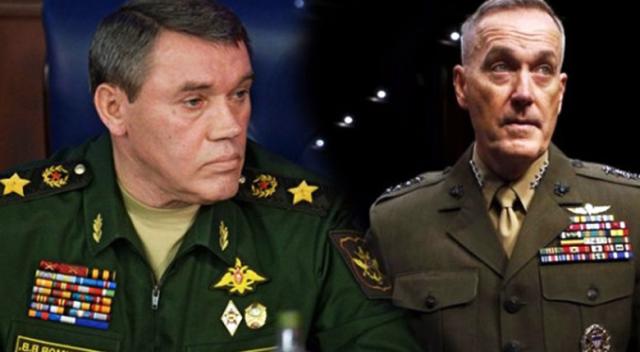 ABD ve Rusya Genelkurmay başkanlarının Suriye zirvesi