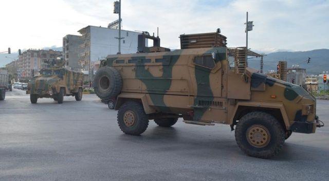 Afrin'e mayına dayanıklı kirpi sevkıyatı