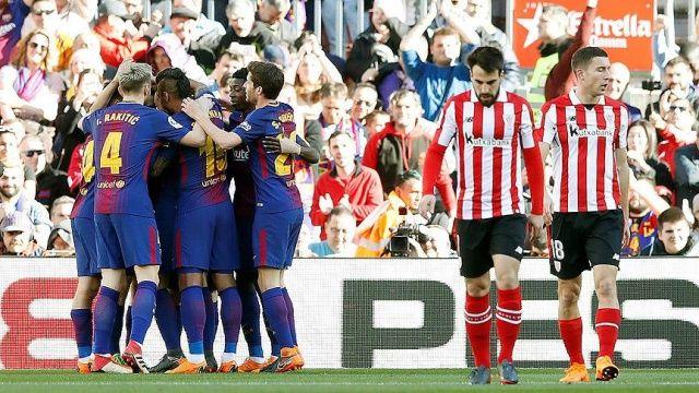 Barcelona yenilmezlik serisini sürdürdü