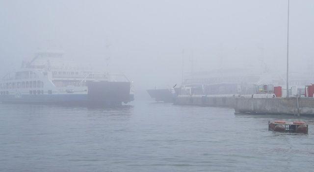 Çanakkale Boğazı sis sebebiyle kapatıldı
