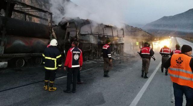Çorum'daki kazada ölenlerin cenazeleri ailelerine teslim edildi
