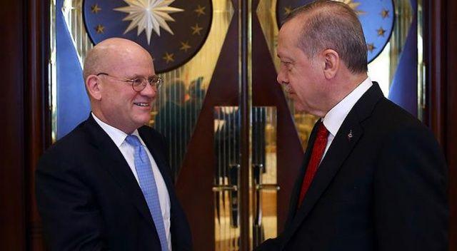 Erdoğan, General Electric CEO'sunu kabul etti