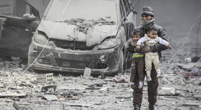 Esad yine kimyasal silah ile saldırdı!