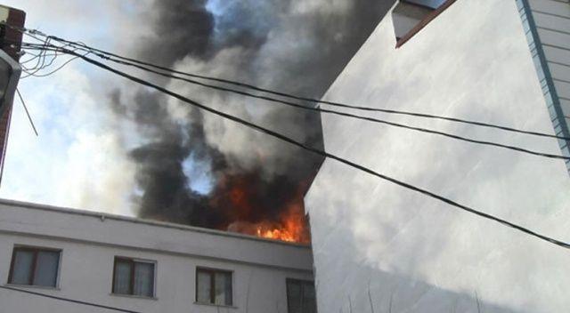 Esenyurt'ta yangın çıktı