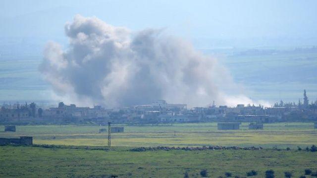 Hama'ya hava saldırıları: 4 ölü, 5 yaralı