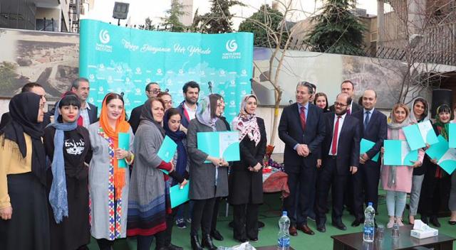 İranlı öğrenciler, Türkçe sertifikalarına kavuştu