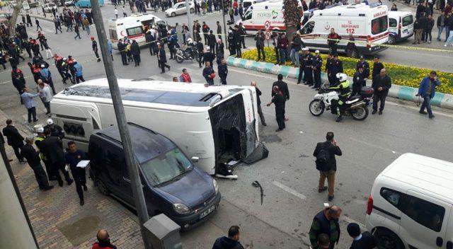 Kahramanmaraş'ta feci kaza, 29 yaralı var
