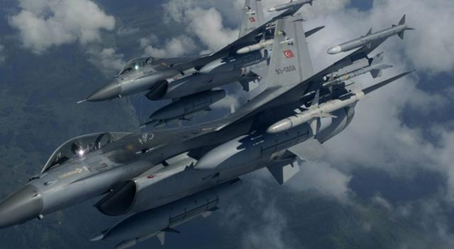 Kuzey Irak'ta 18 hedef imha edildi