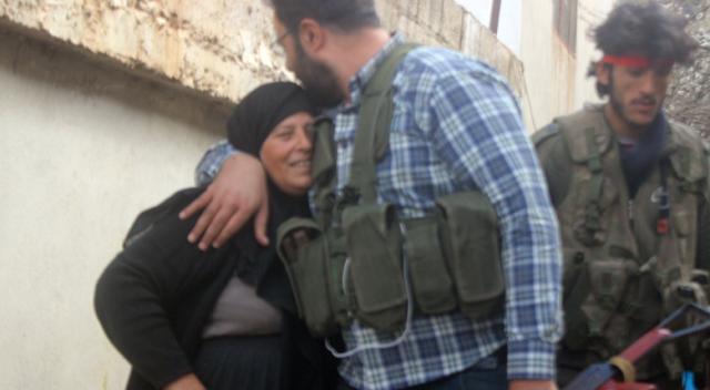 ÖSO, Kafer Mez köyü sakinleri tarafından sevinçle karşılandı