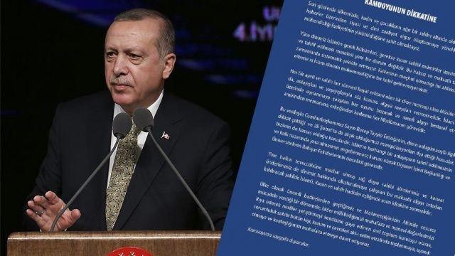 STK'lardan Cumhurbaşkanı Erdoğan'ın açıklamalarına destek