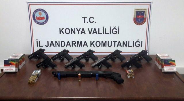 TSK'dan ihraç edilmişti, 9 tabanca ve 1 tüfekle yakalandı!