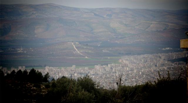 Ve Afrin gözüktü