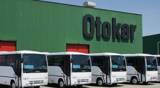Otokar'dan Ürdün'e 100 otobüslük filo