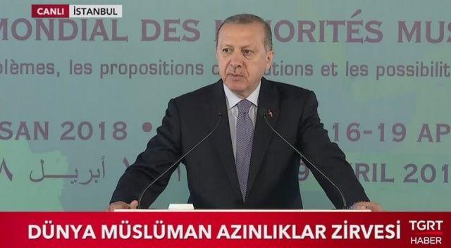 Erdoğan sert çıktı: Bana akıl verme