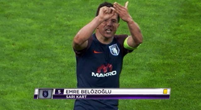 Emre Belözoğlu'nun o hareketi...