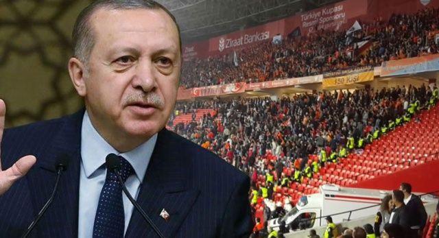 Erdoğan'dan Fenerbahçe taraftarına tepki…