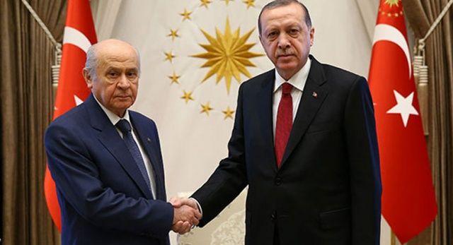 Erdoğan: Yarın Bahçeli ile 13.30'da görüşeceğim