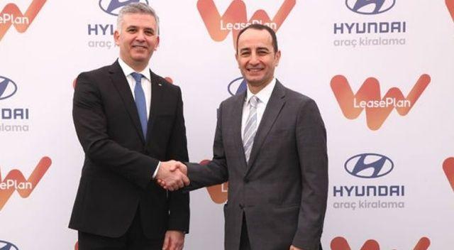 Hyundai ve LeasePlan'dan kiralamada  dev ortaklık