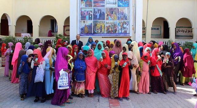 Somali'deki bir okulda Türkçe yabancı dil olarak müfredata girdi