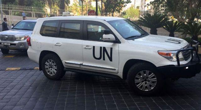 Suriye kimyasal silah denetçilerinin Duma'ya geçmesine izin vermedi