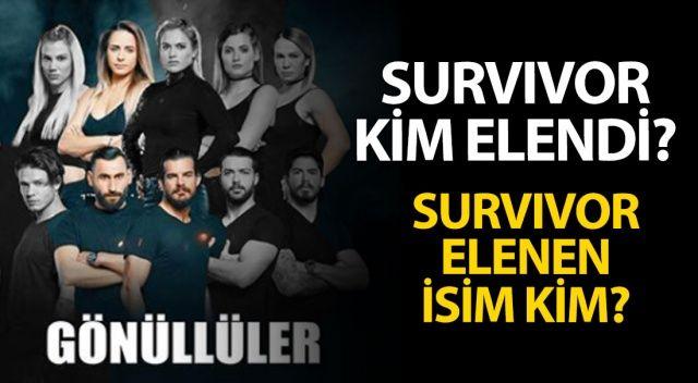 Survivor'da Kim Elendi, Kim Gitti? | Survivor Elenen İsim KİM? (Survivor 2018 ELEME)