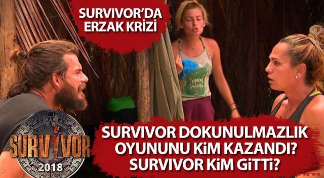 Survivor Dokunulmazlık Oyununu KİM Kazandı? | Survivor Kim Gitti? (16 NİSAN Survivor ELEME)
