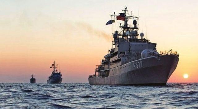 TSK Akdeniz'de harekete geçti: 2 denizaltı ve 14 savaş gemisi...