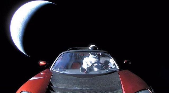 Uzaydaki Tesla'ya yerli parça