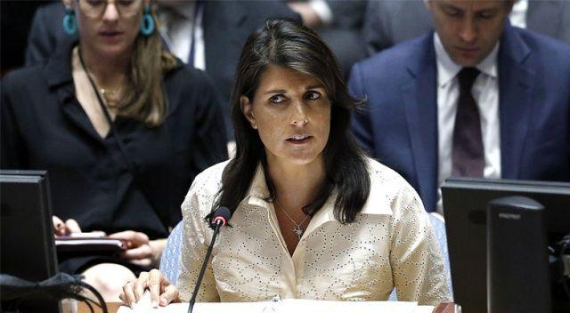 ABD'nin BM temsilcisinden skandal sözler