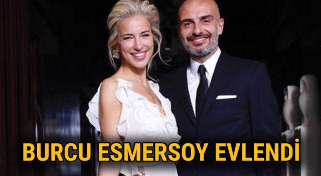 Burcu Esmersoy evlendi | Burcu Esmersoy kiminle evlendi? | Berk Suyabatmaz kimdir?