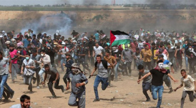 İsrail, Gazze'de Hamas'a ait iki askeri noktayı vurdu