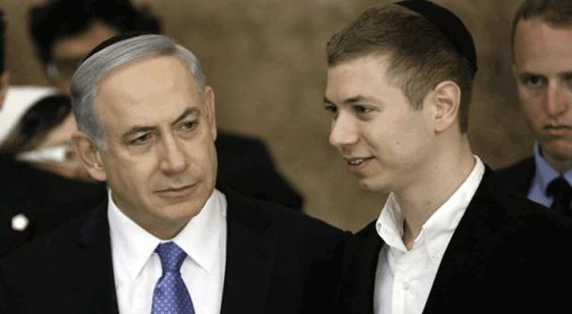 Katil Netanyahu'nun küstah oğlu, Türkiye'ye küfür etti!