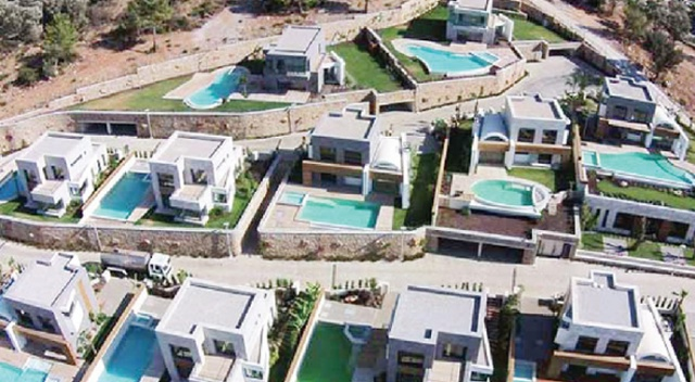 Muhafazakâr tatilde yeni trend: Aile villaları
