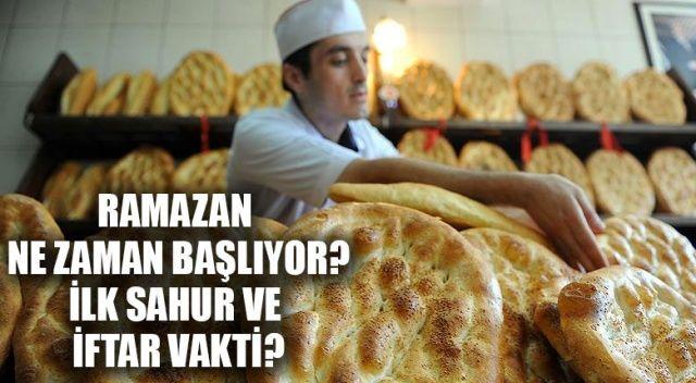 Ramazan Başlangıcı ve İlk oruç Ne Zaman Hangi Gün?   Ramazan Ayı Ne Zaman Başlıyor?