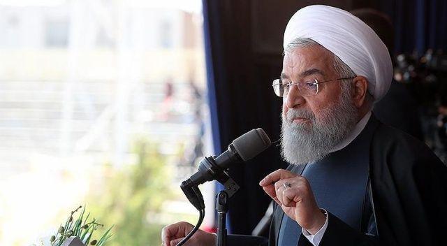 Ruhani, İsrail ve ABD'ye tepki gösterdi