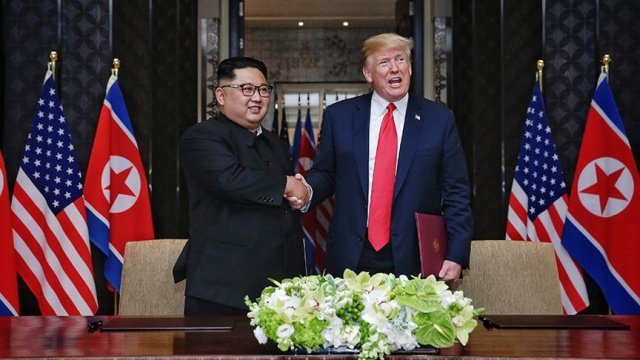'ABD, Güney Kore ile askerî tatbikatları durduracak'