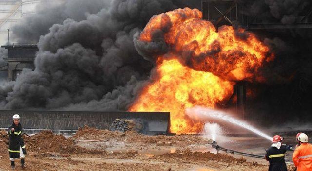 Çin'de doğalgaz patlaması: 24 yaralı