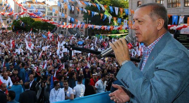 Erdoğan'dan İnce'ye: Muhalefetin yaptığı geyik muhabbeti!