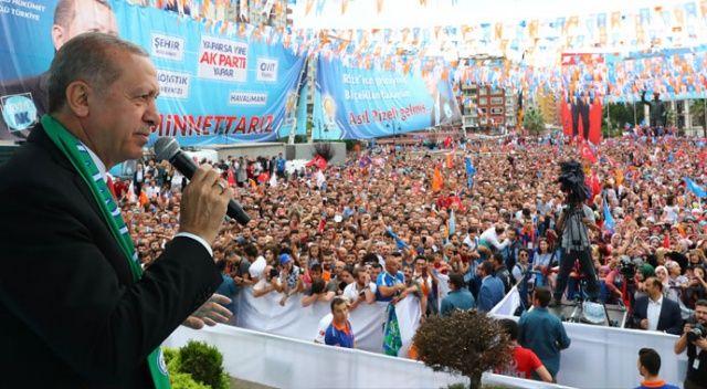 Erdoğan'dan muhalefete: Bunlar şaşkın!