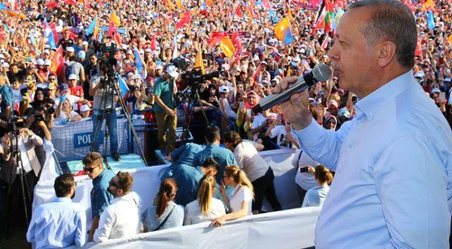 Erdoğan: Kandil'deki terör bataklığı kurutulacak