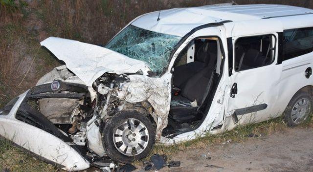 İftara yetişmek isterken kaza yaptılar: 6 yaralı