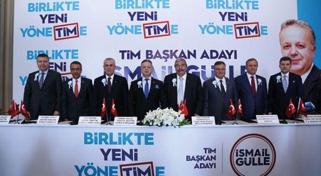 İsmail Gülle TİM Başkanlığı  için adaylığını açıkladı