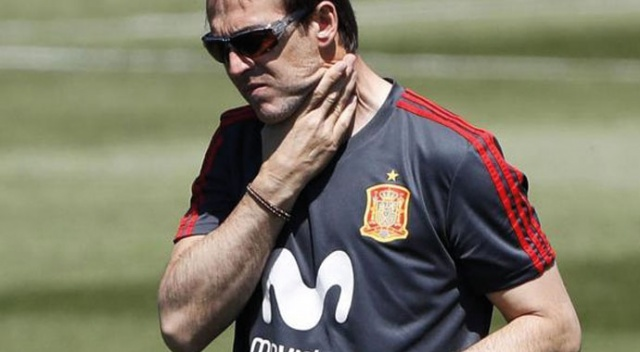 İspanya, Dünya Kupası'na 1 gün kala Julen Lopetegui'yi kovdu